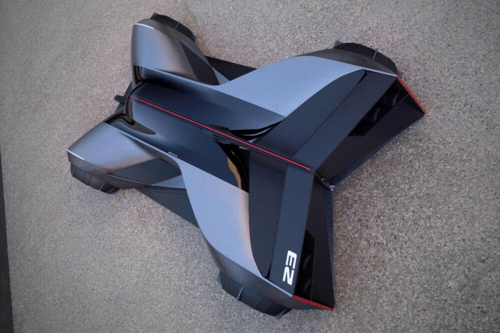 日産GT-R(X)2050 俯瞰