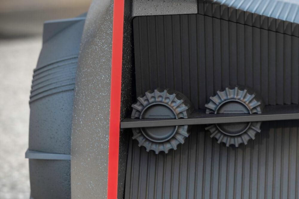 日産GT-R(X)2050 テールランプ