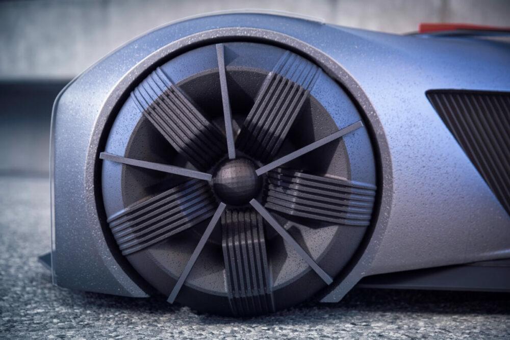 日産GT-R(X)2050 ホイール