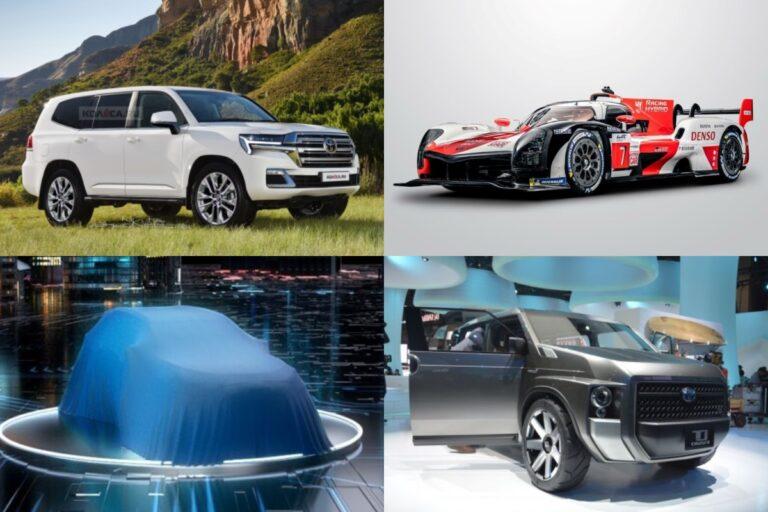 【トヨタ】新型車デビュー・モデルチェンジ予想&新車スクープ|2021年7月最新リーク情報