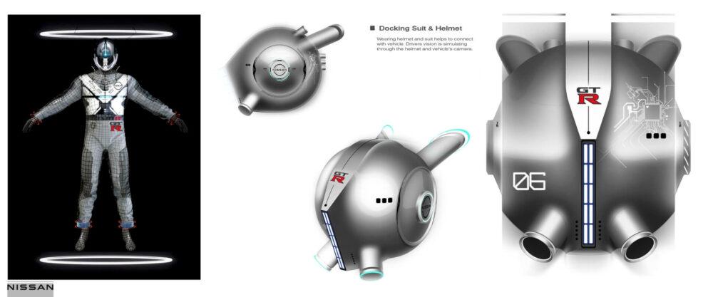 日産GT-R(X)2050 ヘルメット