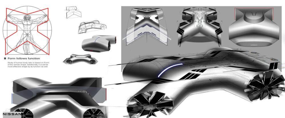 日産GT-R(X)2050 コンセプトアート