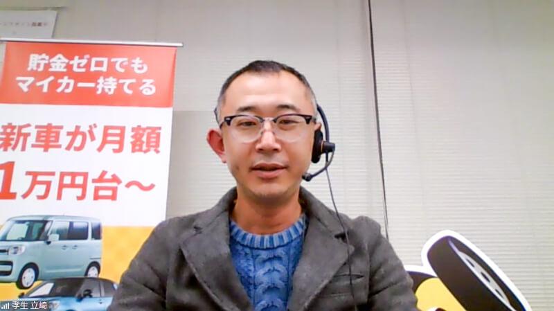 ナイル株式会社モビリティサービス事業部CSO立崎孝生氏
