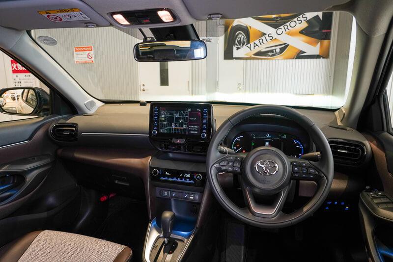トヨタ ヤリスクロス ハイブリッド 2WD/FF 「Z」グレード インテリア インパネ