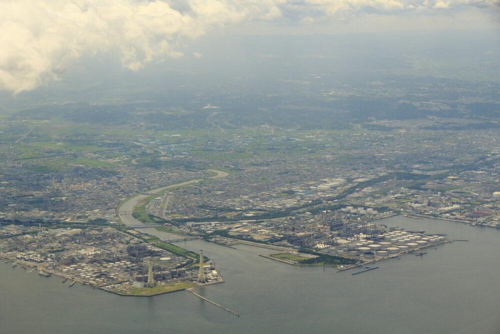 千葉県の湾岸地域
