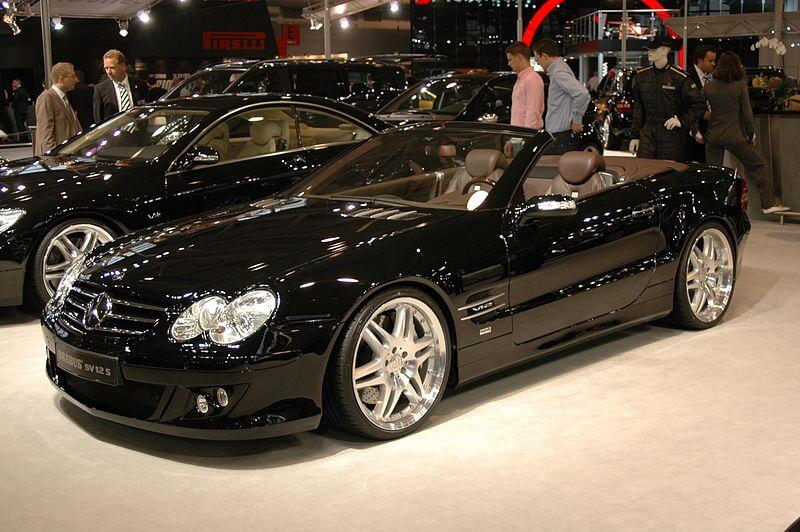 メルセデス・ベンツ SL500 AMG(ブラバス)