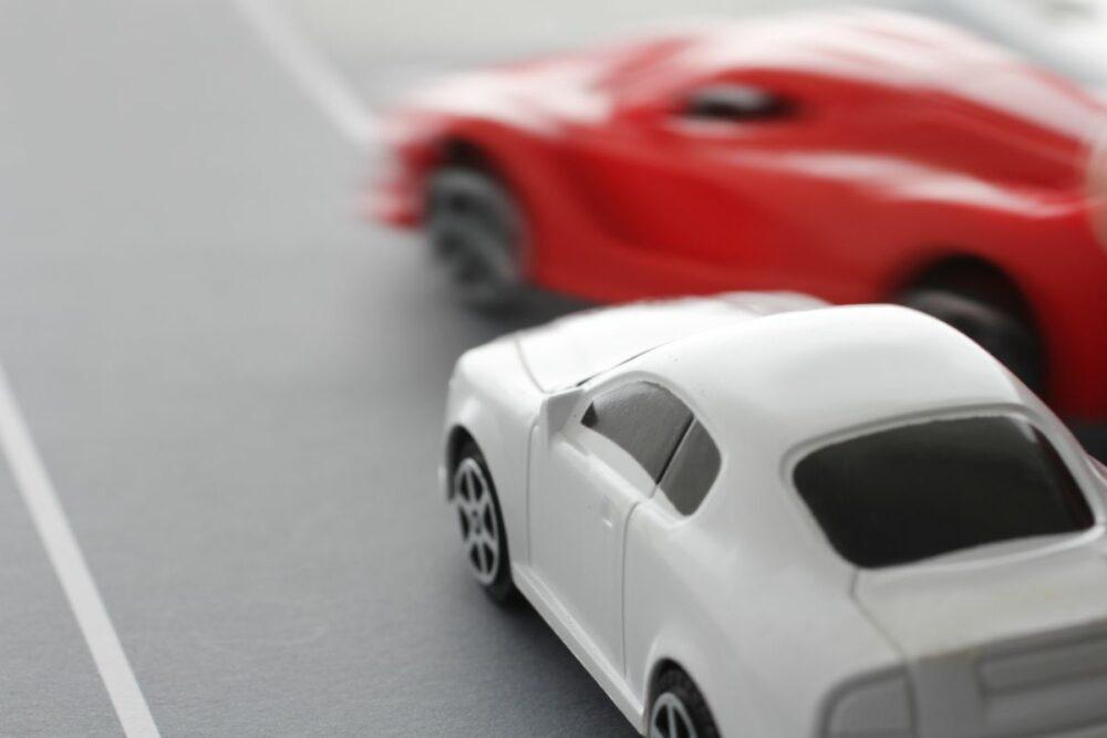 逆あおり運転のイメージ
