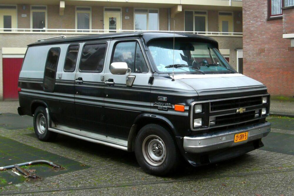 シボレー バン 1986年式