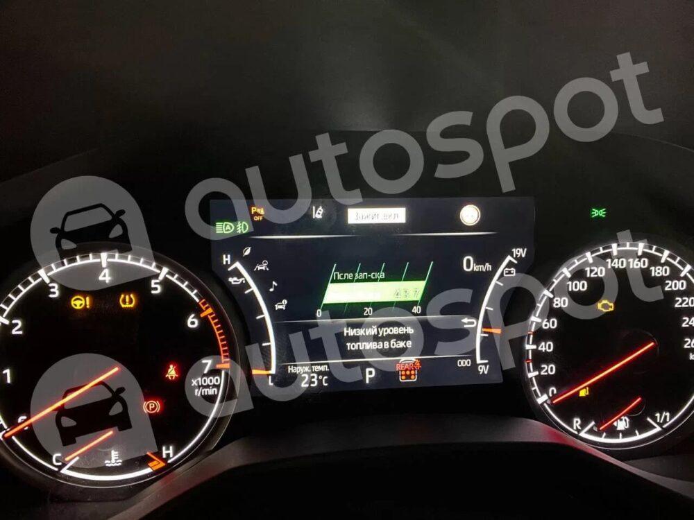 トヨタ 新型ランドクルーザー 300系 メーターパネル