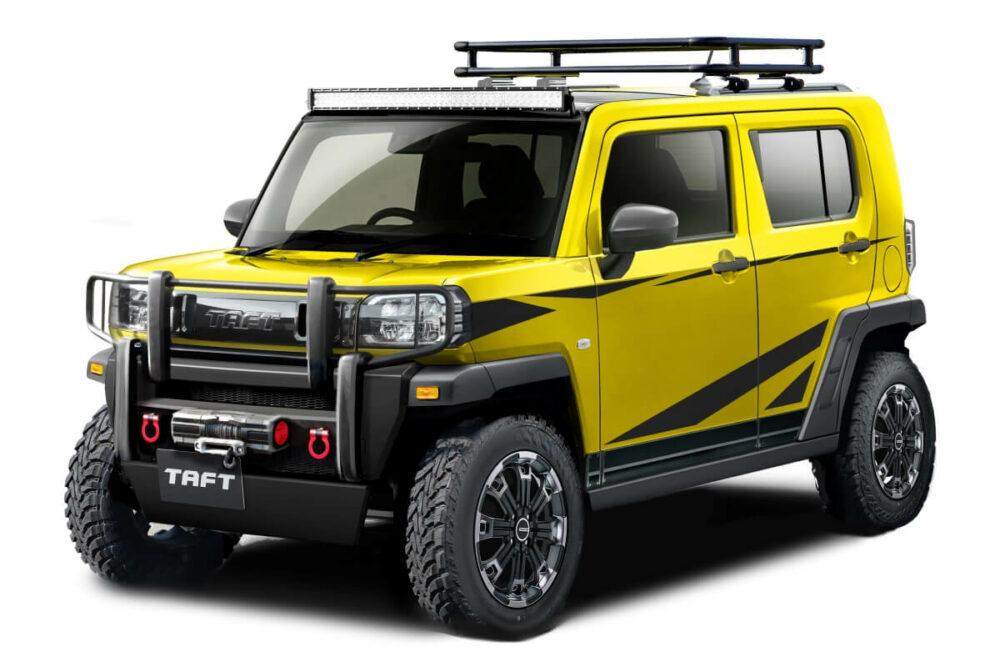 ダイハツが2021年のオートサロンで公開したコンセプトカー「タフト クロスフィールドver.」