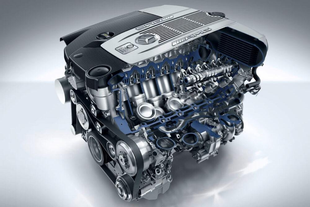 メルセデスAMG S65クーペ 2014年式のV12エンジン
