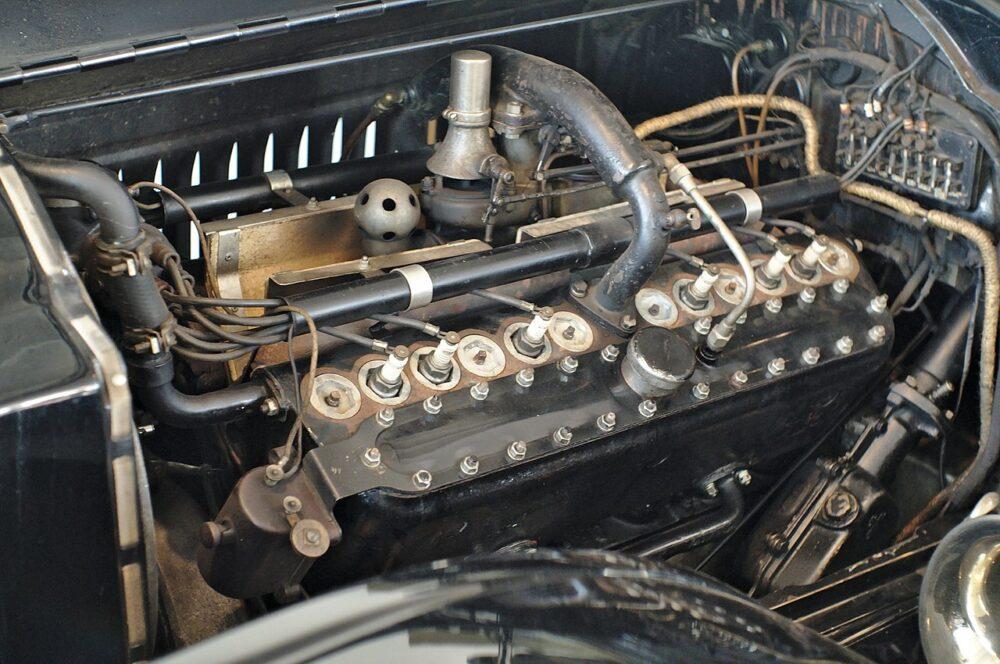 パッカード製「ツインシックスエンジン」