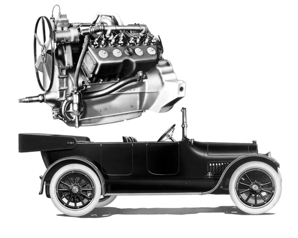 キャデラック タイプ51とV8エンジン