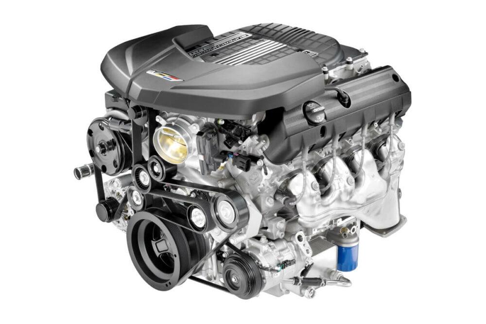 2017年式のキャデラック CTS-Vに搭載されているV8エンジン