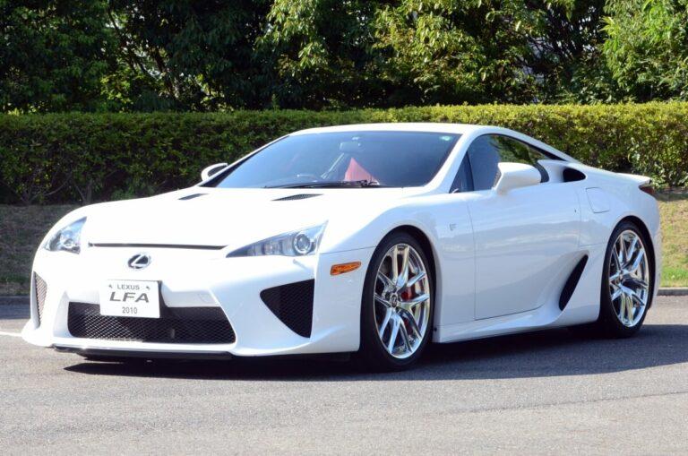 【日本で一番高価な車】レクサスの最高級限定車・LFAの驚異の性能