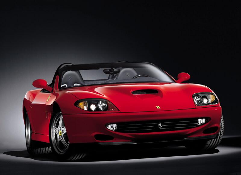フェラーリ550 バルケッタピニンファリーナ