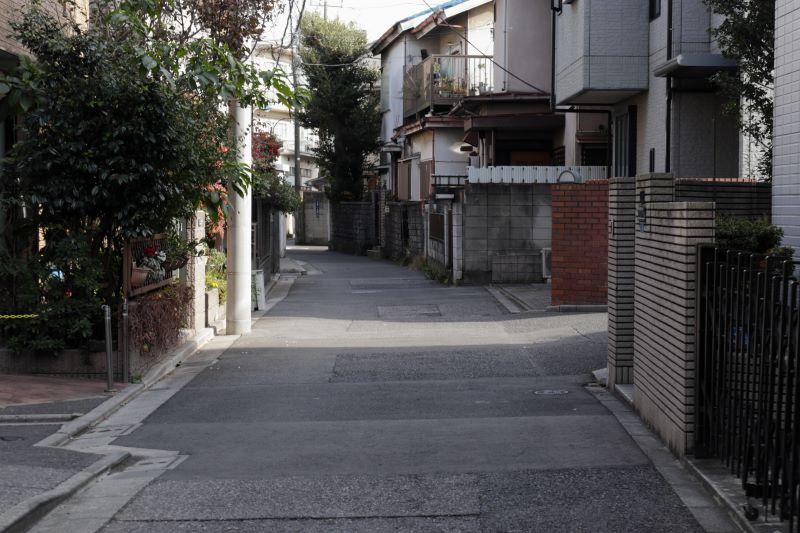 町中の風景