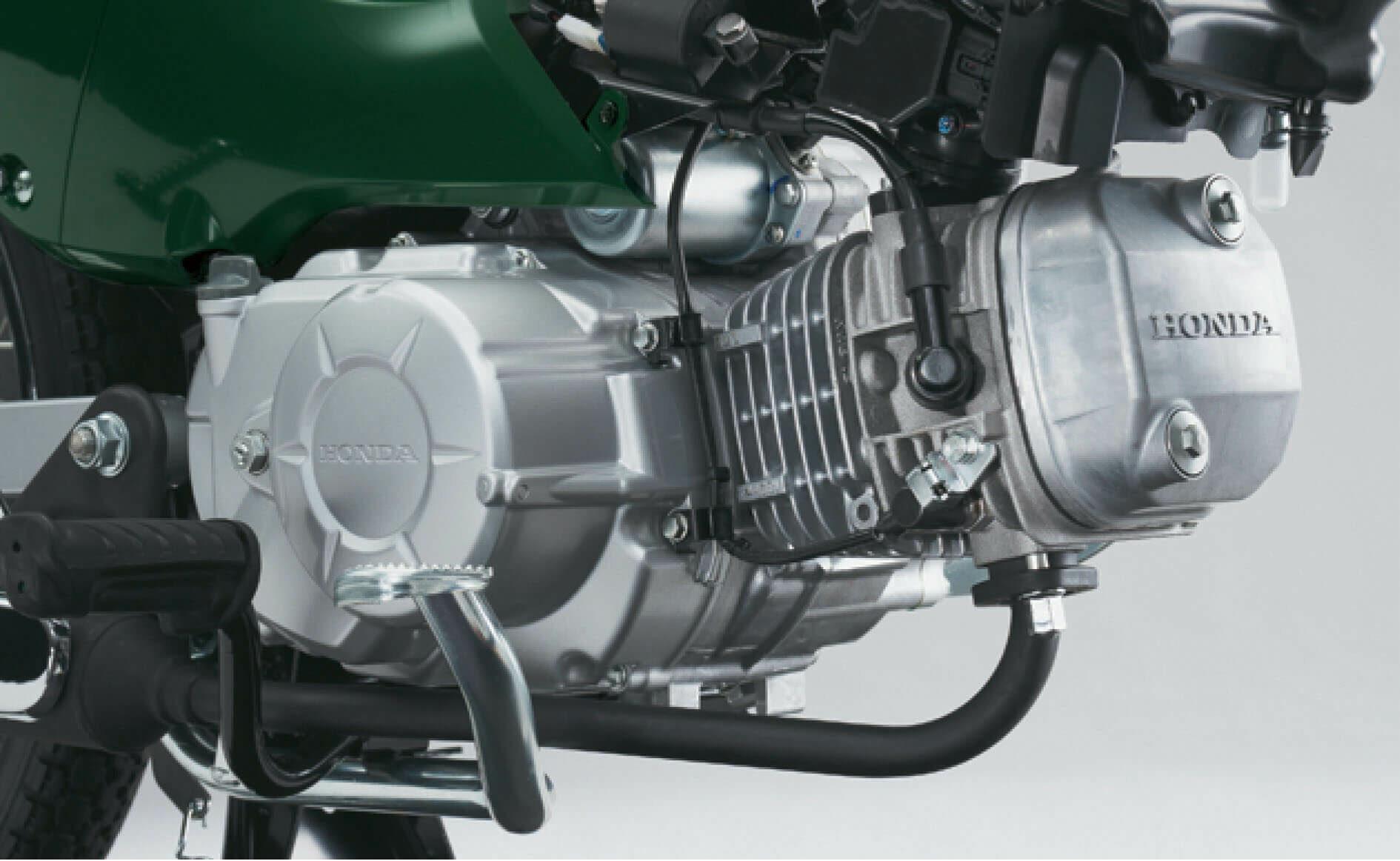 ホンダ スーパーカブ110 空冷4ストロークOHC単気筒エンジン