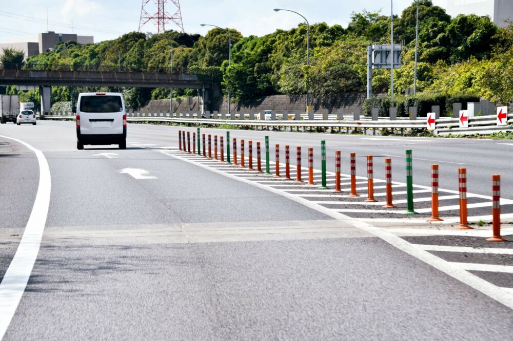 高速道路 合流
