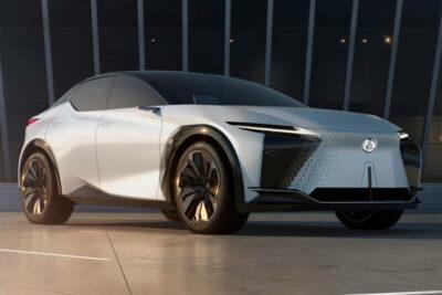 レクサスが次世代モデルを示唆するEVコンセプト「LF-Zエレクトリファイド」を世界初公開