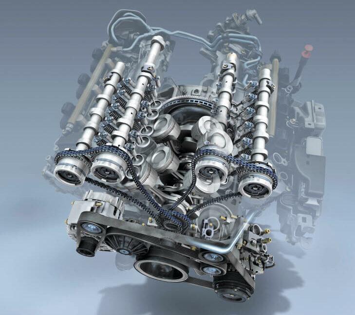 メルセデス・ベンツ V6エンジン