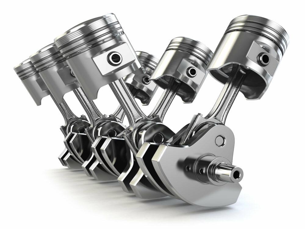V6エンジン ピストン