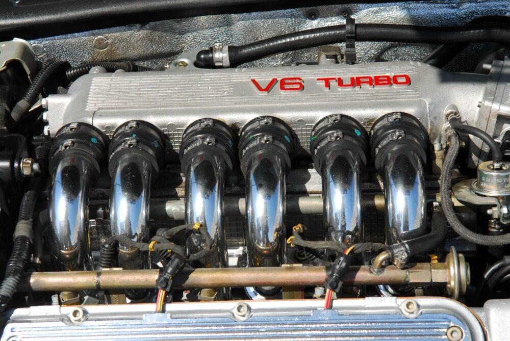 アルファロメオ V6 ターボエンジン