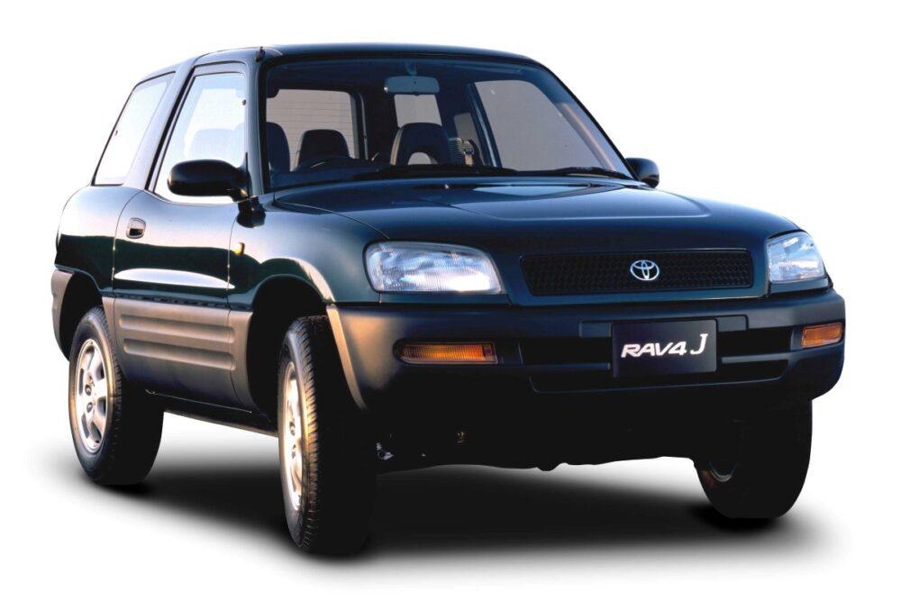 トヨタ 初代RAV4 フロント