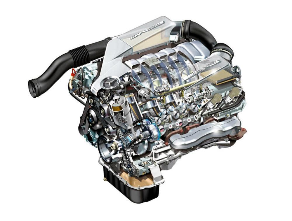 メルセデス・ベンツ AMG Eクラス V8 自然吸気エンジン