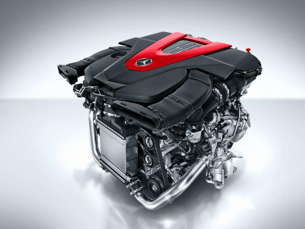 メルセデス・ベンツ AMG C450 V6 ツインターボエンジン