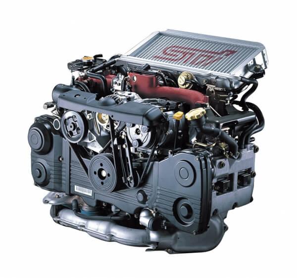 2001年製 スバル インプレッサ STI EJ20 ボクサーターボエンジン