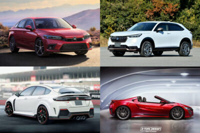 【ホンダ】新型車スクープ・モデルチェンジ予想&新車スクープ|4月30日最新情報更新