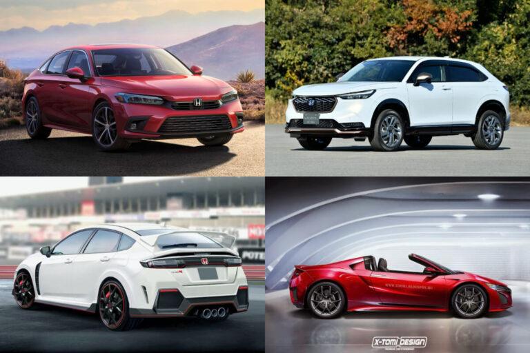 【ホンダ】新型車スクープ・モデルチェンジ予想&新車スクープ 4月30日最新情報更新
