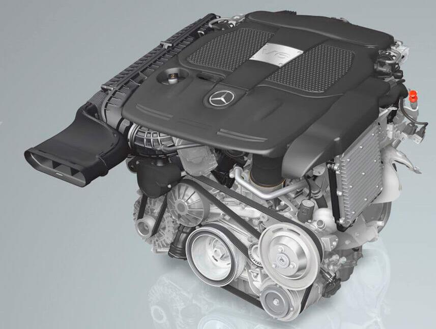 メルセデス・ベンツ ML350 4MATIC V6エンジン