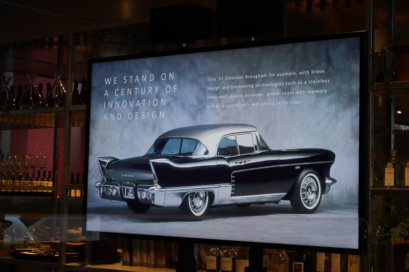 キャデラック XT4・CT4 試乗会 プレゼンテーション キャデラック エルドラド 1957年モデル