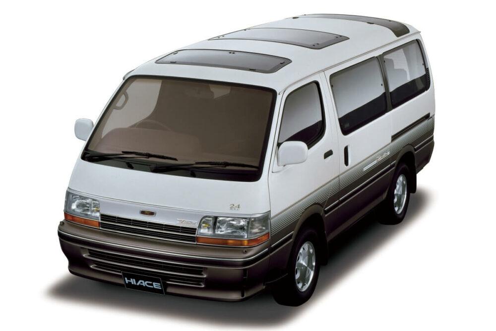 トヨタ 4代目ハイエースワゴン フロント