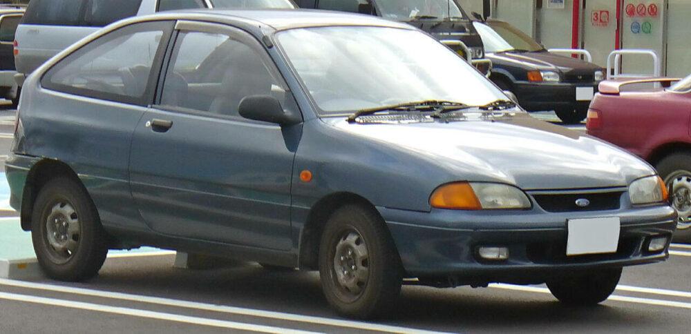 2代目 フォード フェスティバ