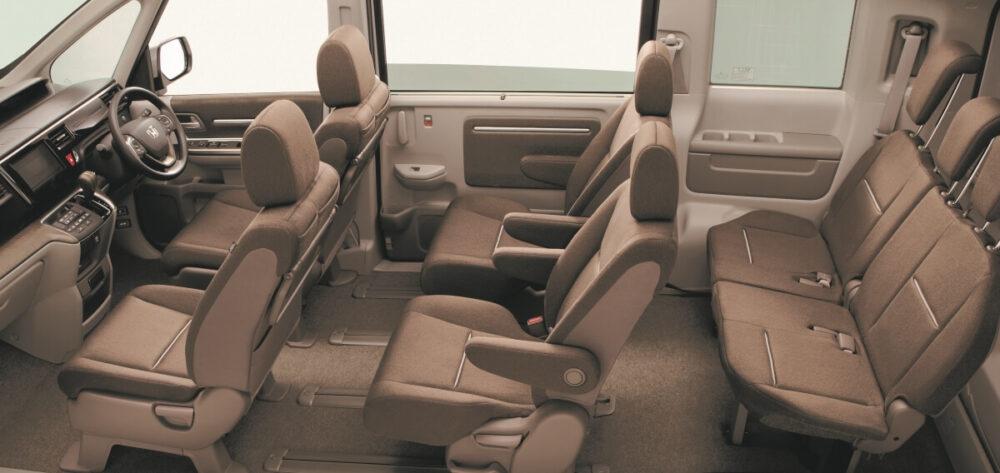 ホンダ 5代目ステップワゴン G・EXの内装