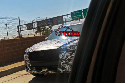 マツダ新型CX-5のテスト車両が撮影される!次期モデルはFR+直6の設定に?