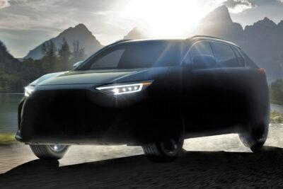 スバルが新型EV「SOLTERRA(ソルテラ)」を発表!トヨタ共同開発で2022年発売予定