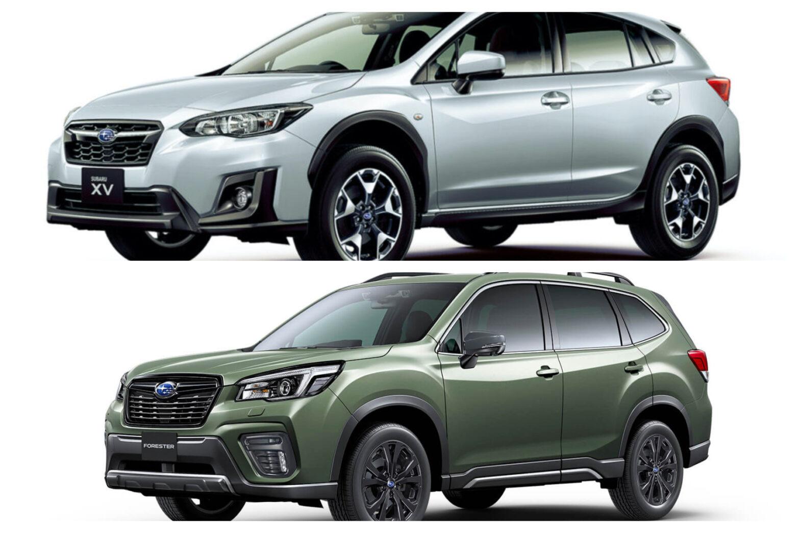 【スバルのSUV】新車全2車種一覧比較&口コミ評価 2021年最新版
