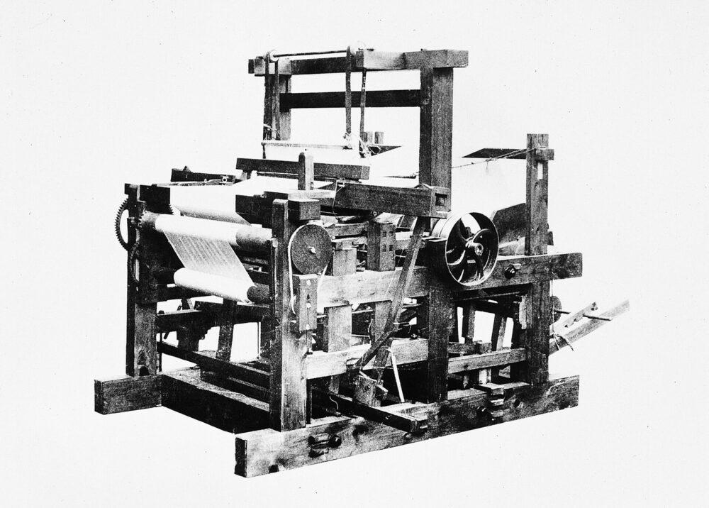 豊田式汽力織機(木鉄混製動力織機) (1896年)