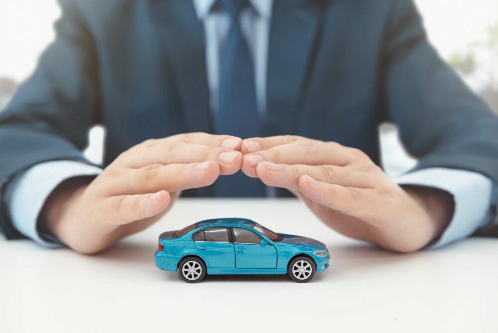 自動車保険、保護、安全のコンセプト