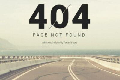 ネットに詳しい人なら思わずニヤリ?車メーカーの404エラーページが面白い!