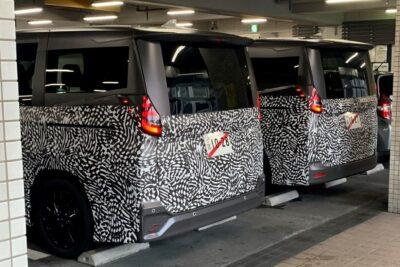 ついにトヨタ次期型ノア&ヴォクシーの開発車両を捉えた!発売は2022年初頭か