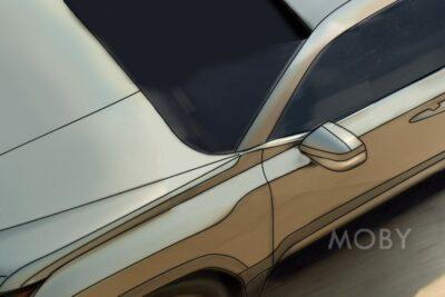 レクサス新型LXのティザー映像でサイドのデザインが判明!ランクル300と同じ?