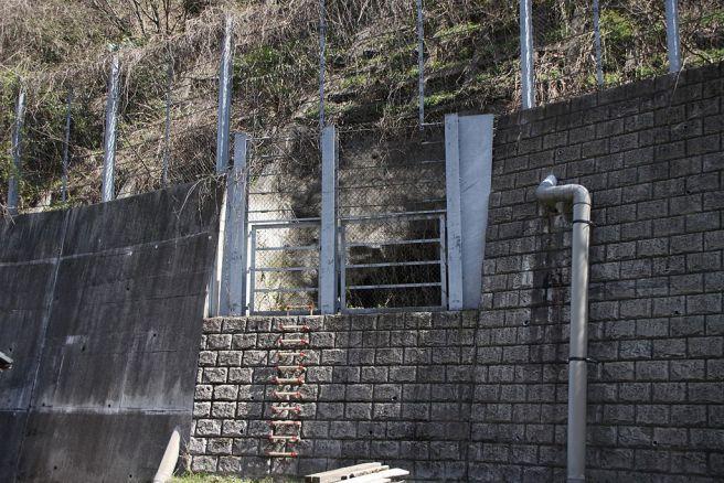浅川地下壕入口