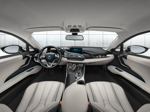 BMW i8 内装 2013年製