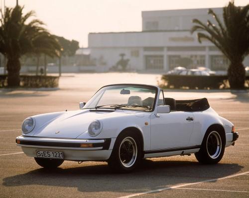 ポルシェ 911 カレラS カブリオレ 1983年