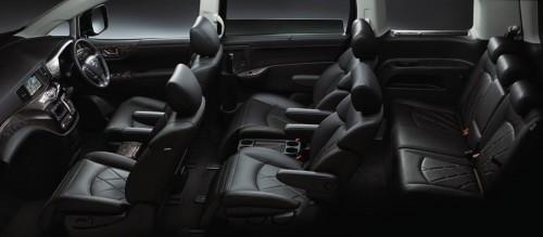 日産 エルグランド 250Highway STAR Premium 2014年 内装